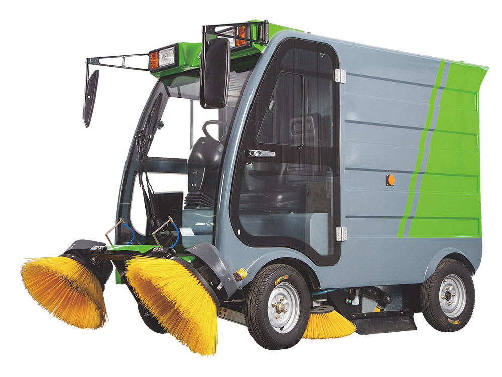 Ruiqing S16 pure electric road sweeper