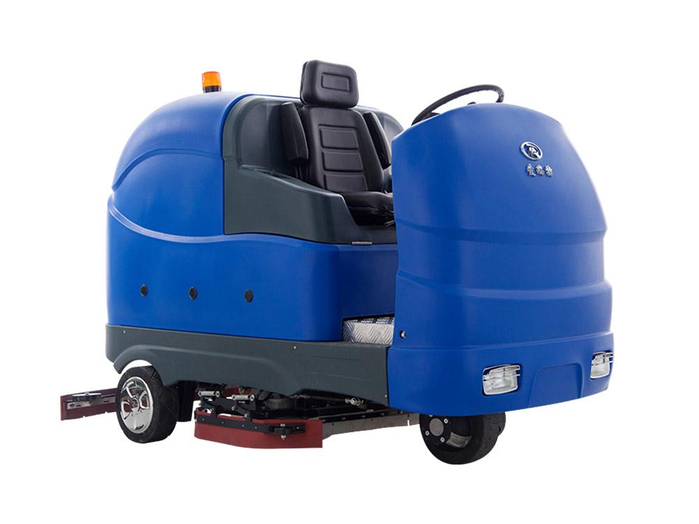 环氧地坪使用洗地机的效果怎么样