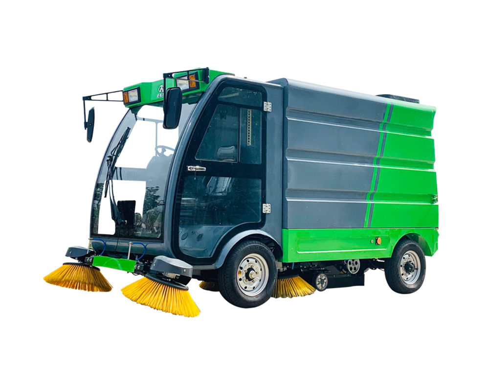 Ruiqing S22 pure electric road sweeper