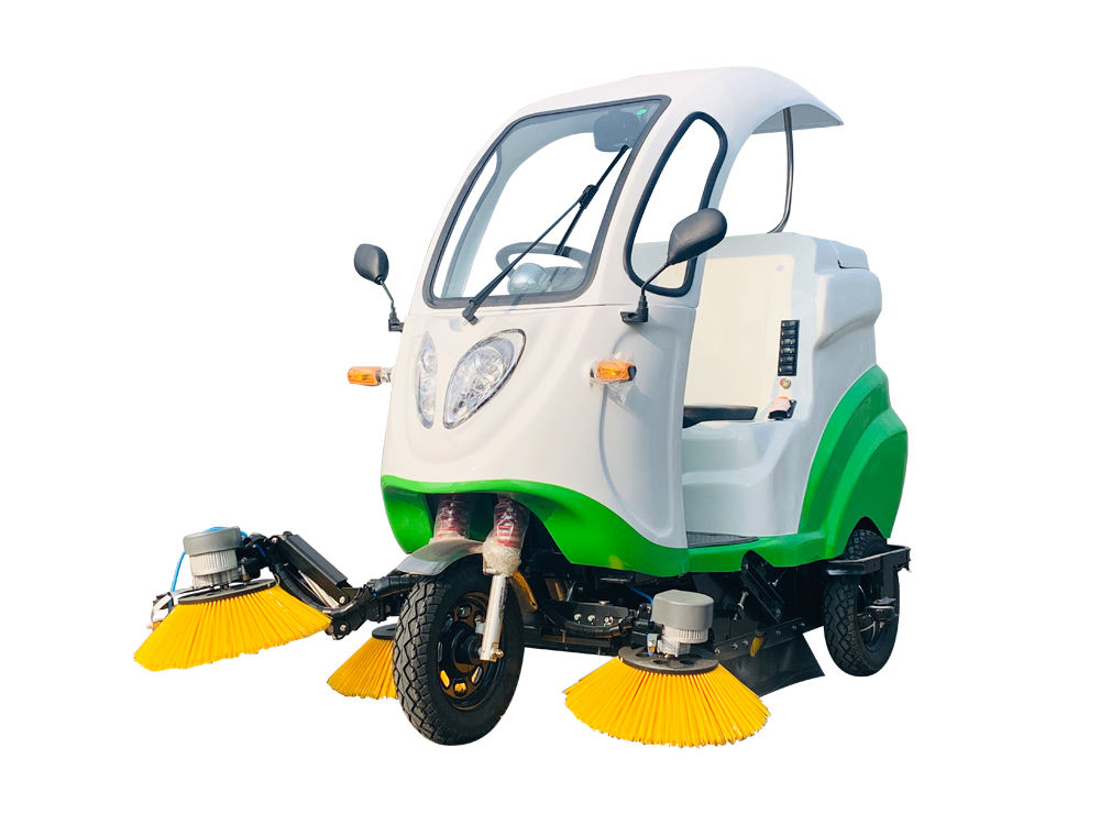 Ruiqing S13 pure electric road sweeper