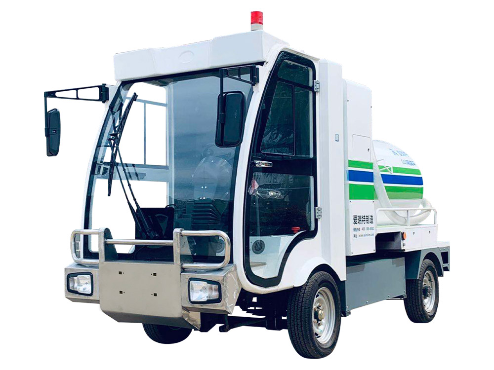 Ruibao G10 pure electric manure suction truck